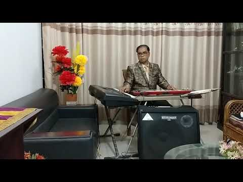 Akash Megehe Daka (On Hawaiian Guitar) Cover By Abdullah Al Mamun