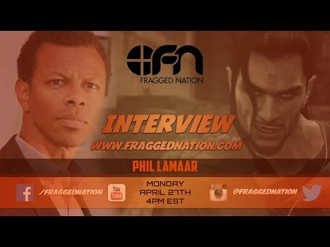 Interview with Phil Lamarr aka Vamp MGS2/MGS4