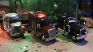 1:32 diecast semi truck update