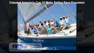 Cozumel America's Cup 12 Meter Sailing Race Excursion