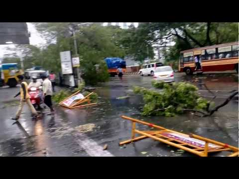 Cyclone Vardha effects in chennai Part 2