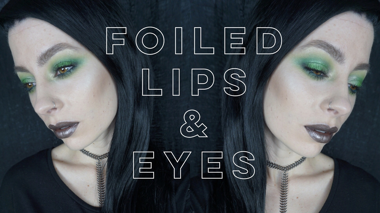 Foiled lips eyes makeup geek foiled pigment and lipgloss foiled lips eyes makeup geek foiled pigment and lipgloss makeup tutorial baditri Images