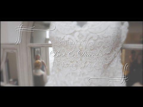 Bex & Dave Matthews Wedding - The Hospitium York 18th Feb 2017