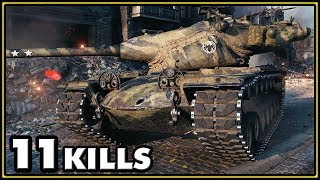 T57 Heavy - 11 Kills - World of Tanks Gameplay