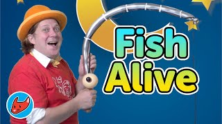Fish Alive | Kids Songs | Magicio & Friends | Made by Red Cat Reading