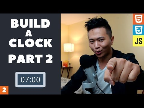 Learn to Code a Digital Clock with Html, Css, and Javascript (PART 2)