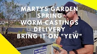 Martys Garden Spring Worm Castings Delivery