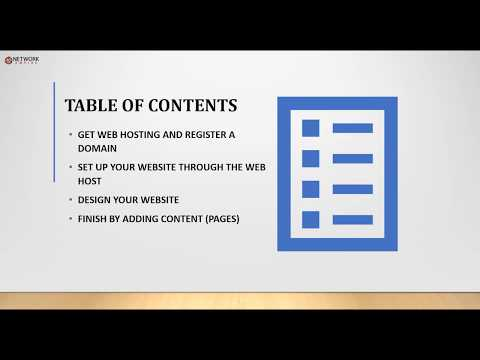 How to make a website: Overview of the steps you take.