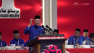 Momentum is on our side, Najib tells Umno members ahead of GE14