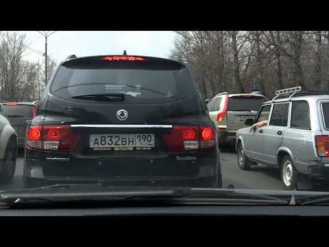 Ногинск - Москва / Noginsk - Moscow 22/04/2012 (timelapse 4x-12x)