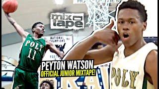 5 Star Peyton Watson WANTS ALL THE Smoke! Elite Guard OFFICIAL Junior Year Mixtape!!