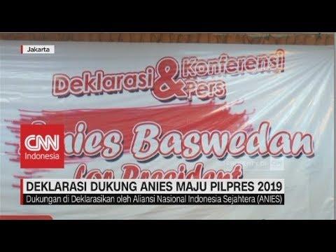 Deklarasi Dukungan Anies Maju Pilpres 2019