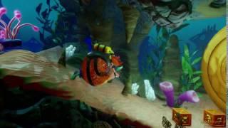 Crash Bandicoot New Trilogy Pufferfish Inflation (Slow-Motion)