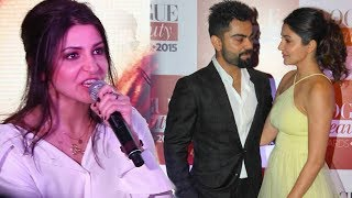 Video Anushka Sharma's BEST Reply On Affair With Virat Kohli download MP3, MP4, WEBM, AVI, FLV Mei 2018