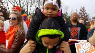 #Allin Clemson Tigers National Championship Victory Parade 1-14-17