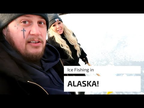 Ice Fishing In Alaska!