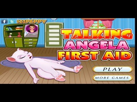 Игра Первая Помощь Говорящей Анжеле