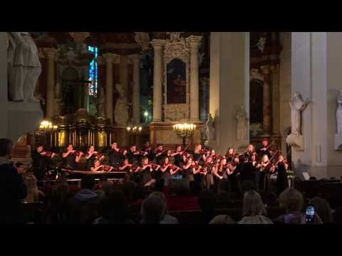 SIUE Tour Group, Tune from Shetland Isles, Lithuania St. Johns Vilnius 2016
