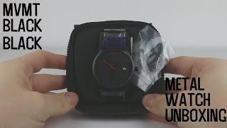 MVMT Watch Black Black Metal Unboxing 1080p HD