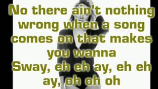 Sway (lyrics) -danielle bradbery -