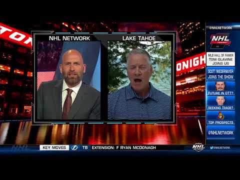 NHL Tonight:  Tom Gravine:  on NHL legends, playing youth hockey  Jul 12,  2018