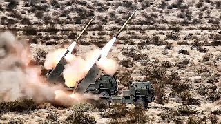 marines fire gmlrs guided multiple launch rocket system