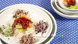 [다이어트 요리]곤약 비빔국수_쿡타임_ [Diet Fo…