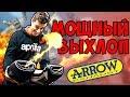 Устанавливаем мощный выхлоп Arrow на Aprilia Dorsoduro 900
