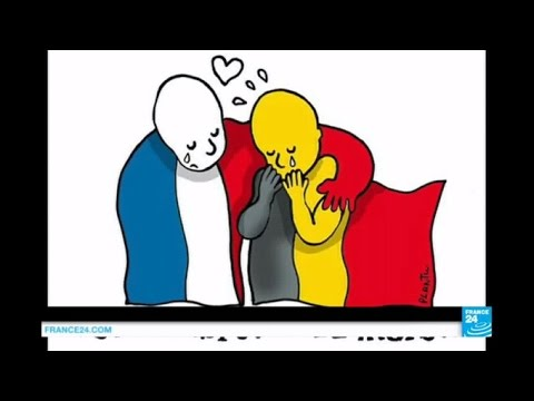 #JeSuisBruxelles: Trending reactions to Tuesday's attacks on the Belgian capital