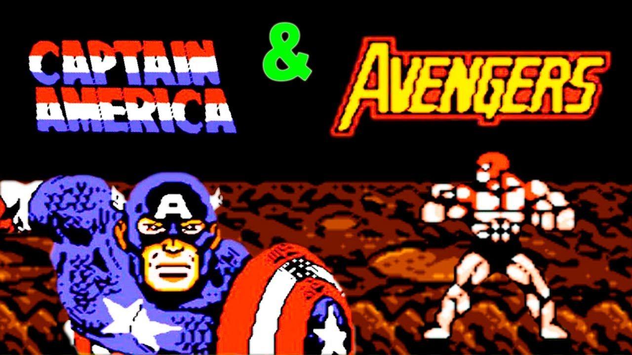 Игру сега капитан америка