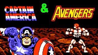 Captain America and The Avengers прохождение (NES, Famicom, Dendy)
