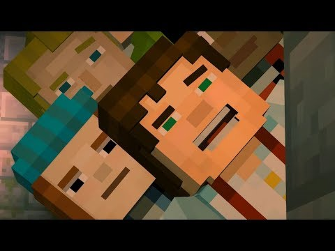 A Man Who Hates Bad Writing plays Minecraft Story Mode: Episode 1 thumbnail