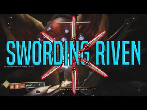 Swording Riven To Death... Quickly - Last Wish | Destiny 2 thumbnail