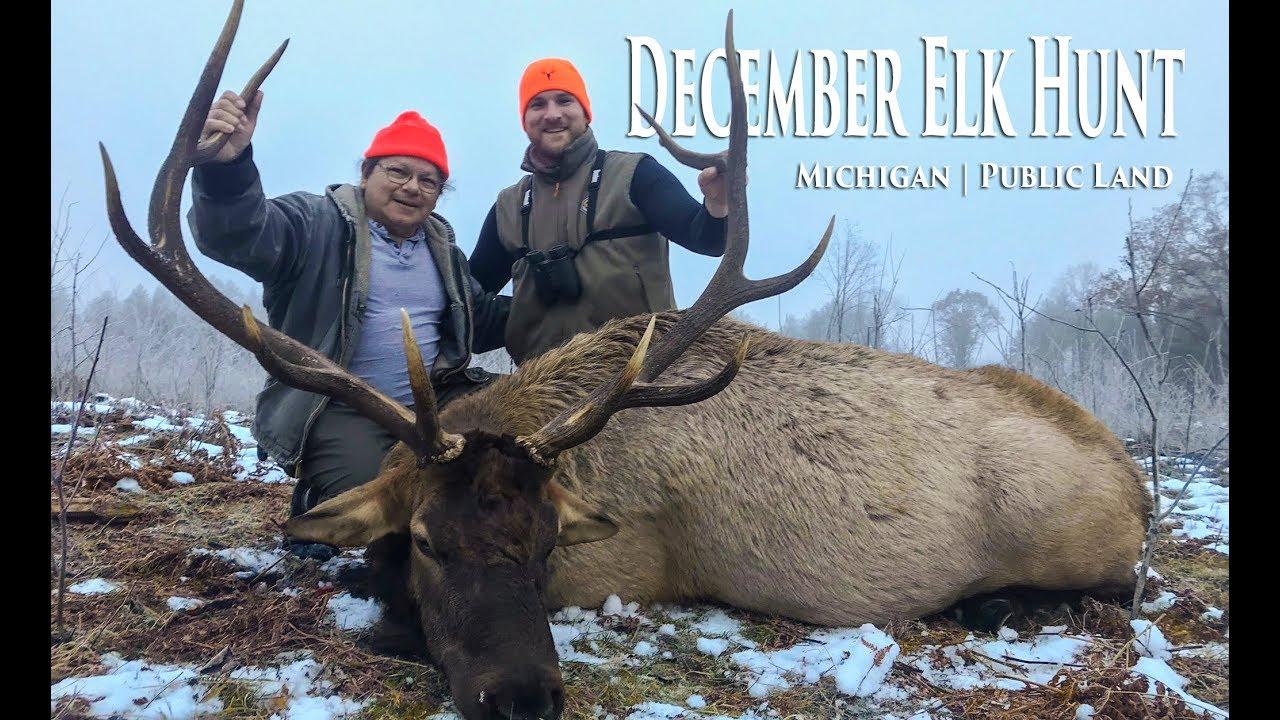 December Elk Hunt   Michigan 2018