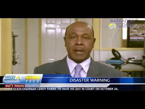 BARBADOS TODAY EVENING UPDATE - October 13, 2016