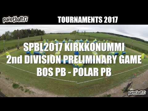 BOS Paintball vs Polar Paintball - SPBL2017 Kirkkonummi