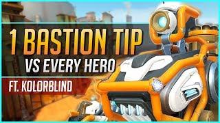 1 BASTION TIP for EVERY HERO ft. Kolorblind