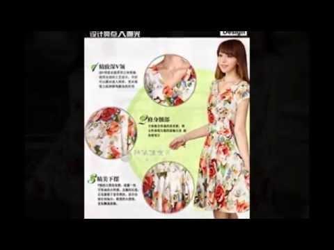 เสื้อผ้าเดรสคนอ้วนแฟชั่นเกาหลีไซส์ใหญ่