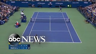Roger Federer loses to unseeded player in US Open quarterfinals | ABC News