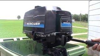 Двигуна 4hp підвісний човновий мотор Mercury