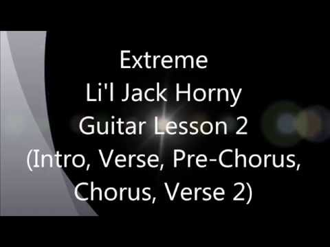 Extreme / Nuno Bettencourt - Li'l Jack Horny - Guitar Lesson 2 - 25th Annivesary of Pornograffitti mp3