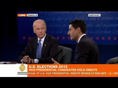 Vice President Joe Biden and Rep. Paul Ryan on Afghan Withdrawal