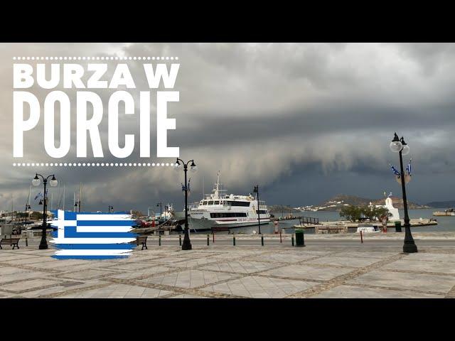 Jak zejść z kotwicy? Burza i panika w Naxos. // Odc. 33