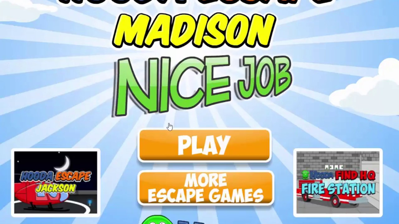 Hooda Escape Madison Walkthrough Youtube