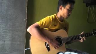 Xin lam nguoi xa la- guitar cover