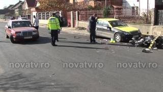 Accident mopedist pe strada Stadionului - NOVA TV MEDIAS