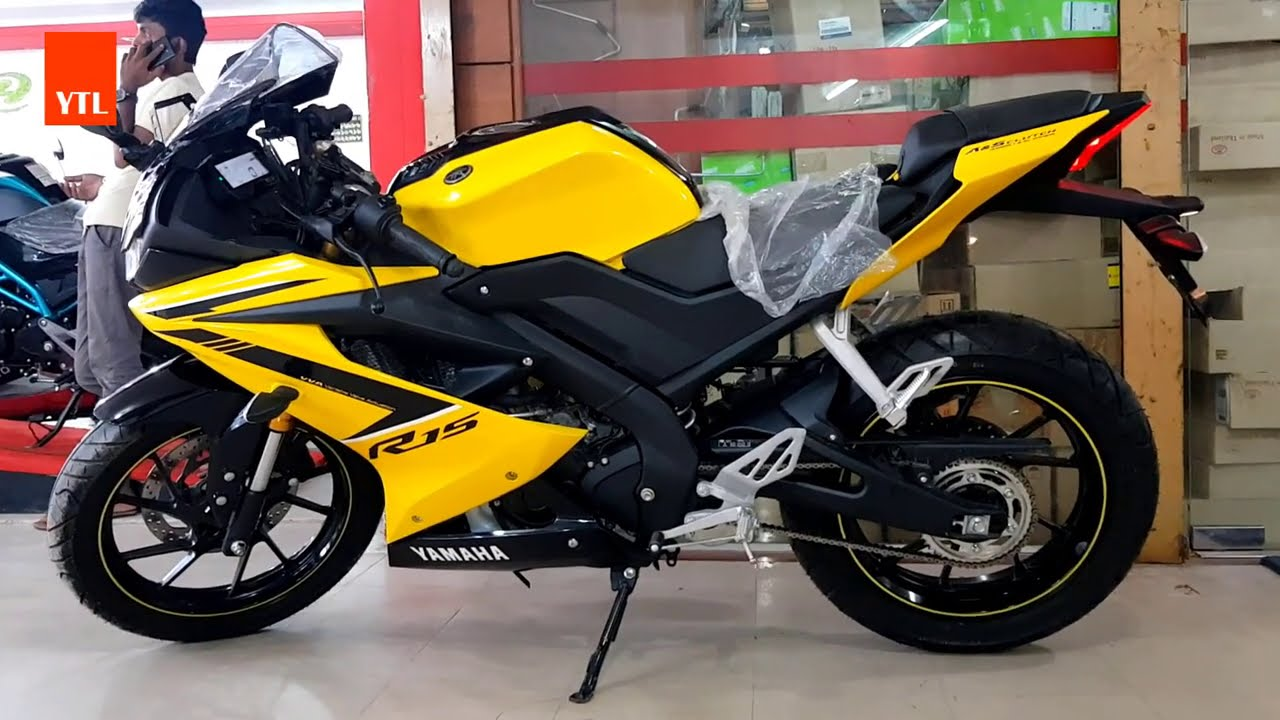 Most Popular Bike YAMAHA R15 (155 ) Excellent Colors - Fashionable - Limited Version HD Videos 2020