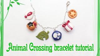 Animal Crossing: New Leaf Polymer Clay Charm Bracelet Tutorial / Timelapse