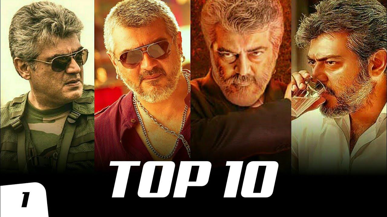 Top 10 Ajith Kumar Mass Bgm Ringtones Ft. Vedalam, Vivegam, Mankatha, Veeram, Viswasam | South BGM