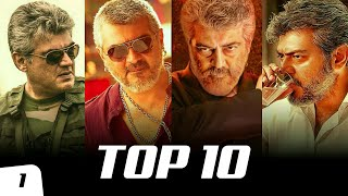 Top 10 Ajith Kumar Mass Bgm Ringtones Ft. Vedalam, Vivegam, Mankatha, Veeram, Viswasam | South BGM